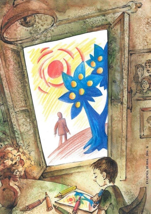 Израильский художник. Евгения Бурда