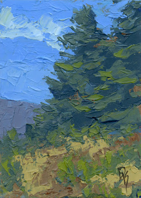 art nature painting knife texture thick paint
