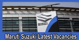 Maruti Suzuki Jobs 2021 MarutiSuzuki.com 3,600+ Maruti Suzuki Careers