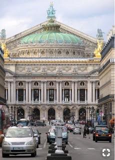 La Ópera Garnier en el bus turístico por París