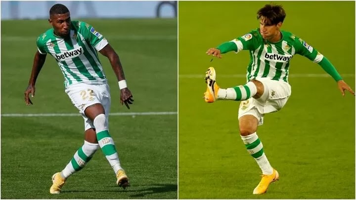 Emerson to complete Barcelona move, Miranda to stay at Real Betis