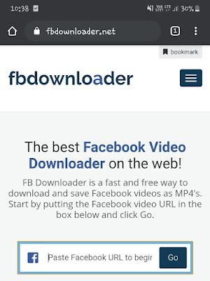 FBdownloader tool