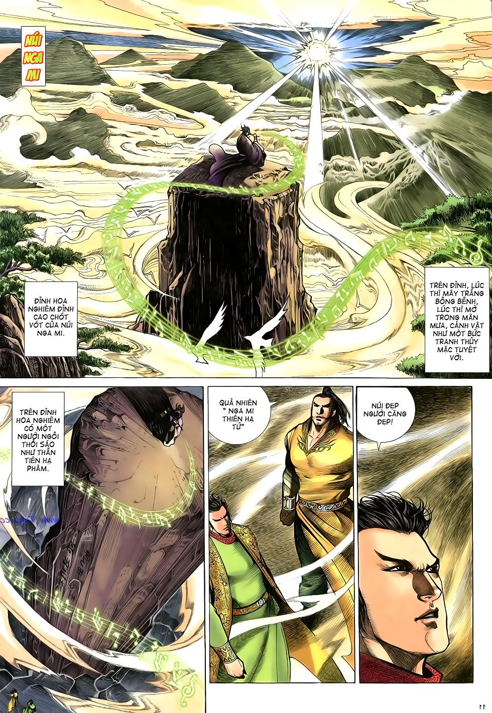 Anh hùng vô lệ Chap 16: Kiếm túy sư cuồng bất lưu đấu  trang 12