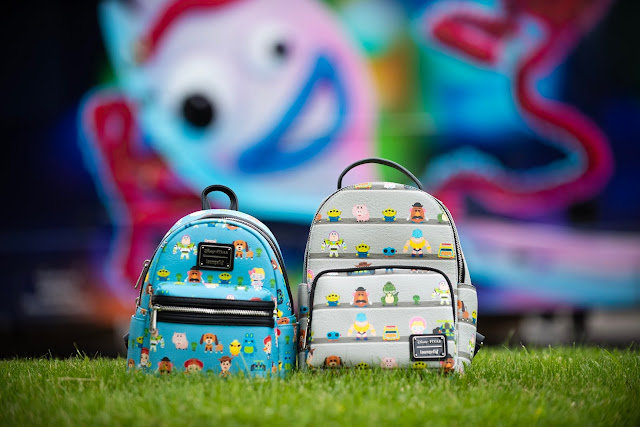 BoxLunch LoungeFly Toy Story bags