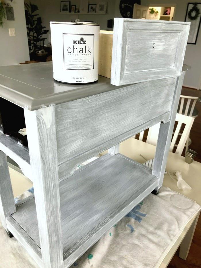One coat of chalk paint