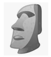 Arti Batu Moai di Tiktok Tenyata Begini