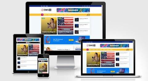 Blogger Templates News HD