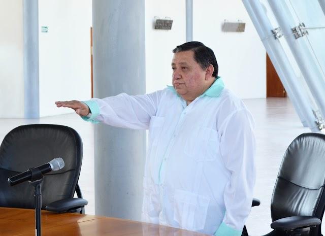 Rinde compromiso constitucional el juez Pedro Raymundo Alfaro Gómez