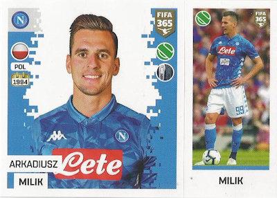 PANINI FIFA 365 2020 cartes cards 261-Cristiano Ronaldo-Carte de Base