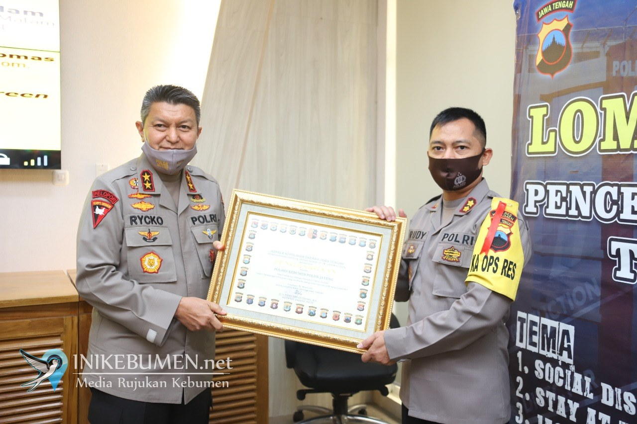 Rumah Semar Antarkan Polres Kebumen Raih Penghargaan Satwil Terbaik dari Kapolda Jateng