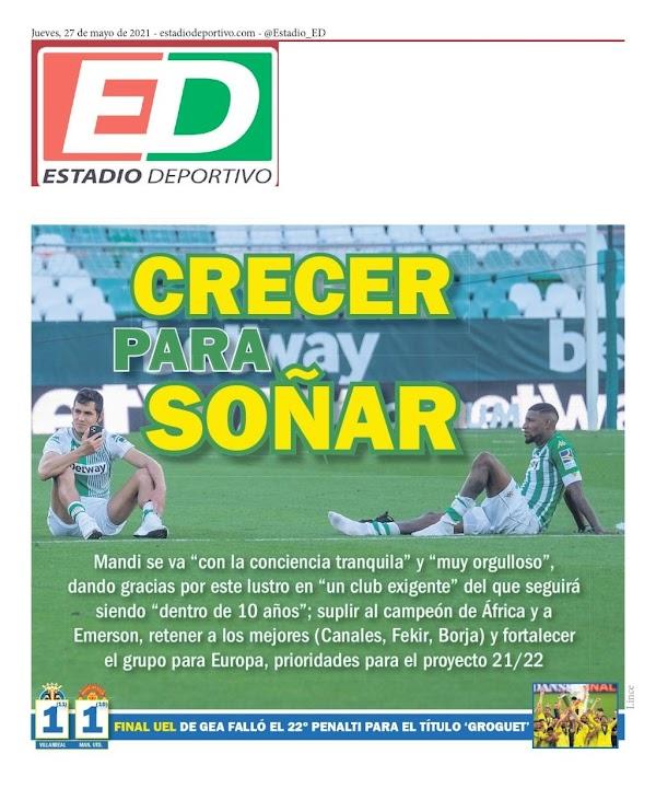 """Betis, Estadio Deportivo: """"Crecer para soñar"""""""