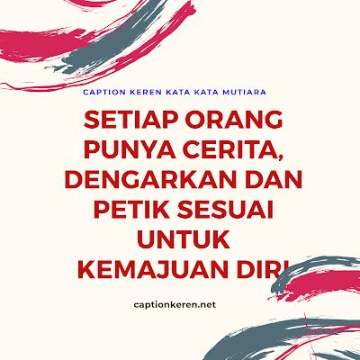 caption keren kata kata mutiara singkat