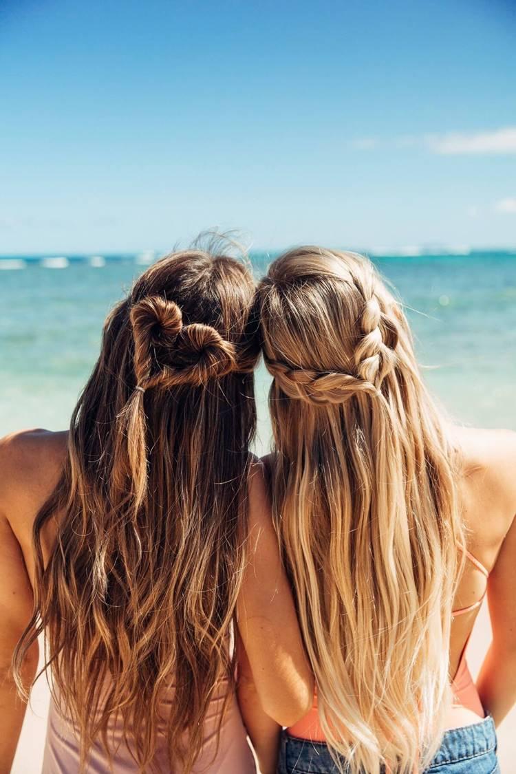 Cuidados cabelos no verão