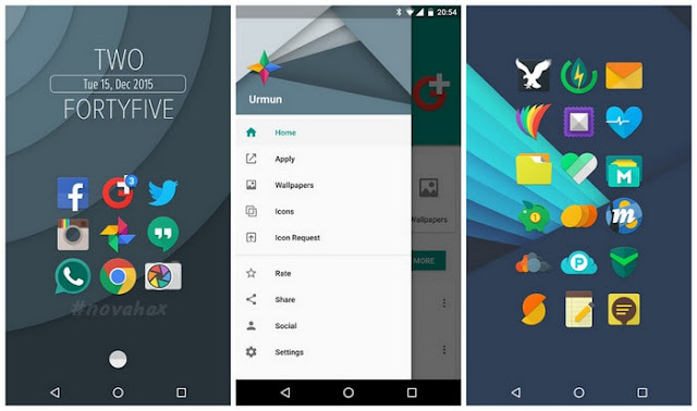 Urmun icon pack patched APK