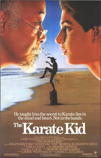 Póster película Karate Kid - 1984