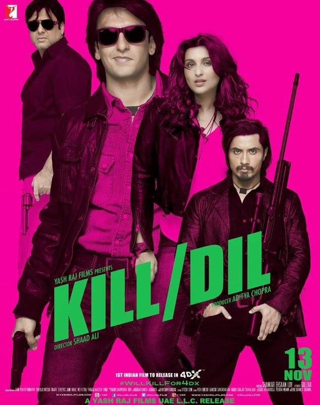 Free download kill dil hd movie wallpaper #1.