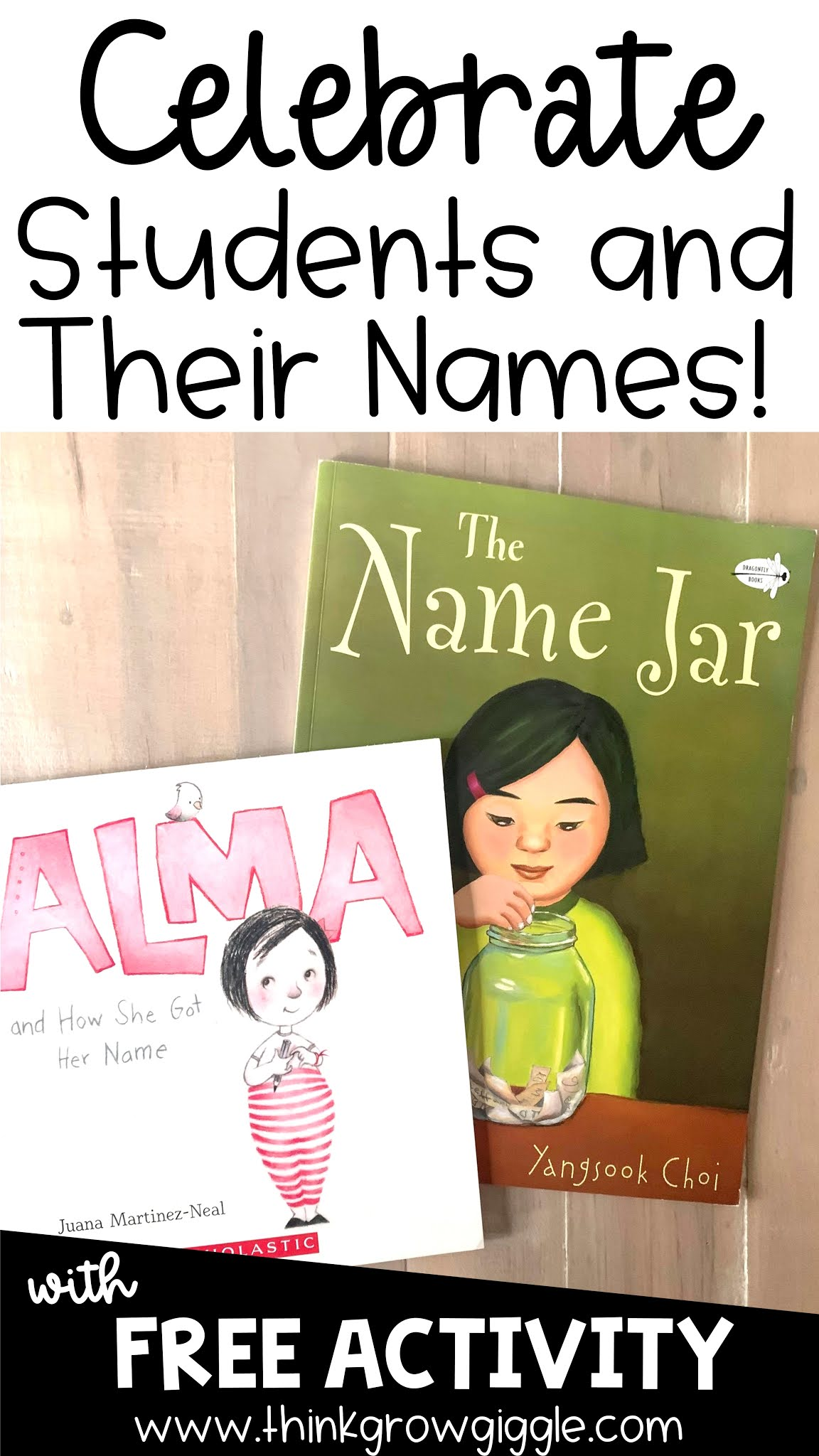 Celebrating Students with the Name Jar Book