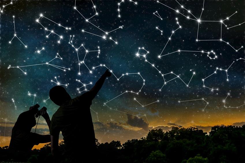 Cara mudah mengetahui rasi bintang di langit malam info astronomy