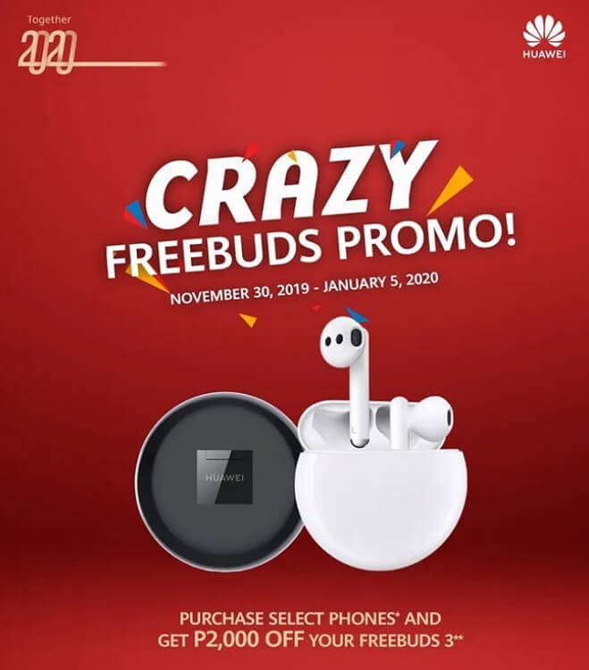 Huawei Intros Crazy FreeBuds Promo