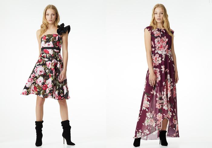 vestidos flores Colección La reina del Edén de Liu Jo