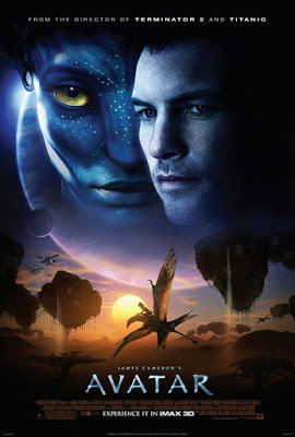 Poster of Avatar Extended Collectors Edition 2009 Dual Audio Hindi 720p BRRip