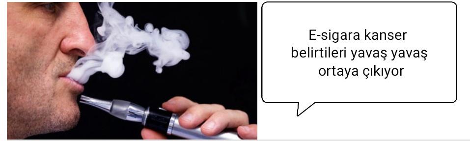 Elektronik Sigara Vaping Kanser