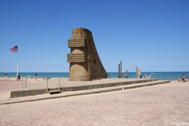 Spiaggia di Omaha e monumenti