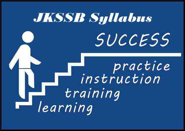 JKSSB Exam Pattern