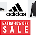 HOT ADIDAS SALE!! ADIDAS 40% OFF ALL SALE ITEMS  + FREE SHIPPING! Sneakers, Clothing, Accessories and More. Track Pants $12, Track Jacket $15, Sneakers From $21 and Much More For Men, Women' and Kids'!