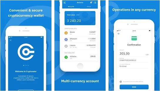 Top 3 Best Multiple Cryptocurrencies mobile wallet