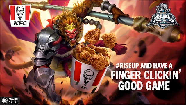 KFC FINGER CLICKIN' GOOD DEALS COLLABORATES WITH THE MOBILE LEGENDS CRAFTS KFC X MLBB THEMED POWERUP BUNDLE MEALS FOR SEASON 8 E-SPORTS