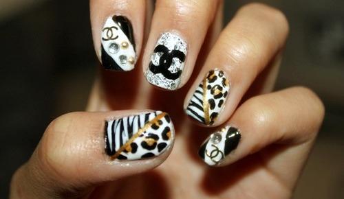Posh Touche Nail Spa: design