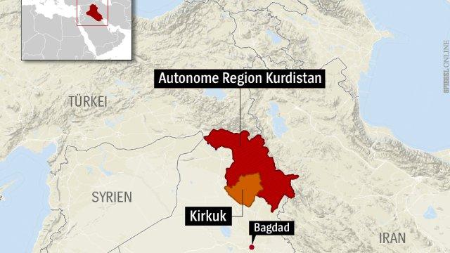 الأكراد في العراق يتوقون إلى دولتهم