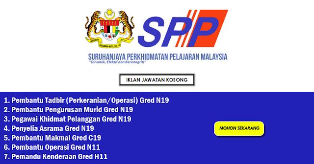 jawatan kosong spp mei 2021