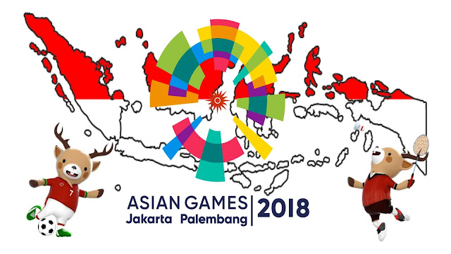 Contoh 10 Background Wallpaper Asian Games 2018 Paling Keren