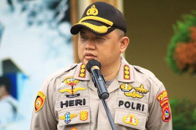 Kapolresta Mataram, Kombes Pol Heri Wahyudi