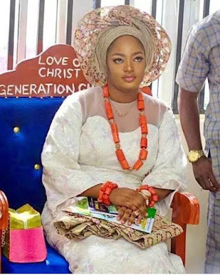 image result for ooni of ife new wife princess prophetess naomi