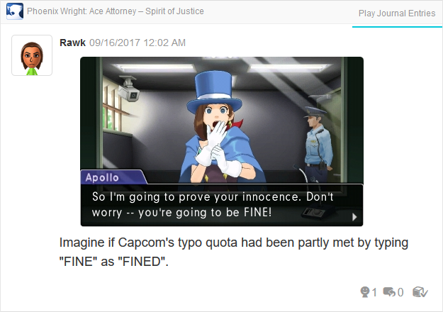 Phoenix Wright Ace Attorney Spirit of Justice Apollo you're going to be fine Trucy