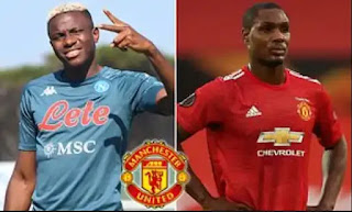 Victor Osimhen 'turned down Manchester United transfer before joining Napoli because he didn't want to compete with Odion Ighalo,' his brother reveals