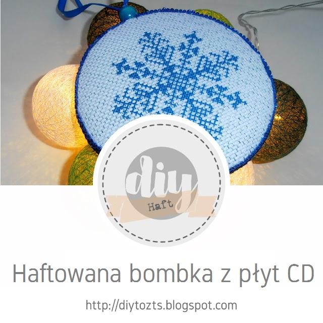 http://diytozts.blogspot.com/2019/11/haft-bombka-na-bazie-cd.html