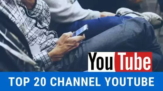 top 20 daftar channel youtube indo milyaran september 2020