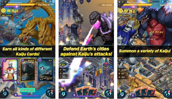 قوة الدفاع غدزيلا Godzilla Defense Force