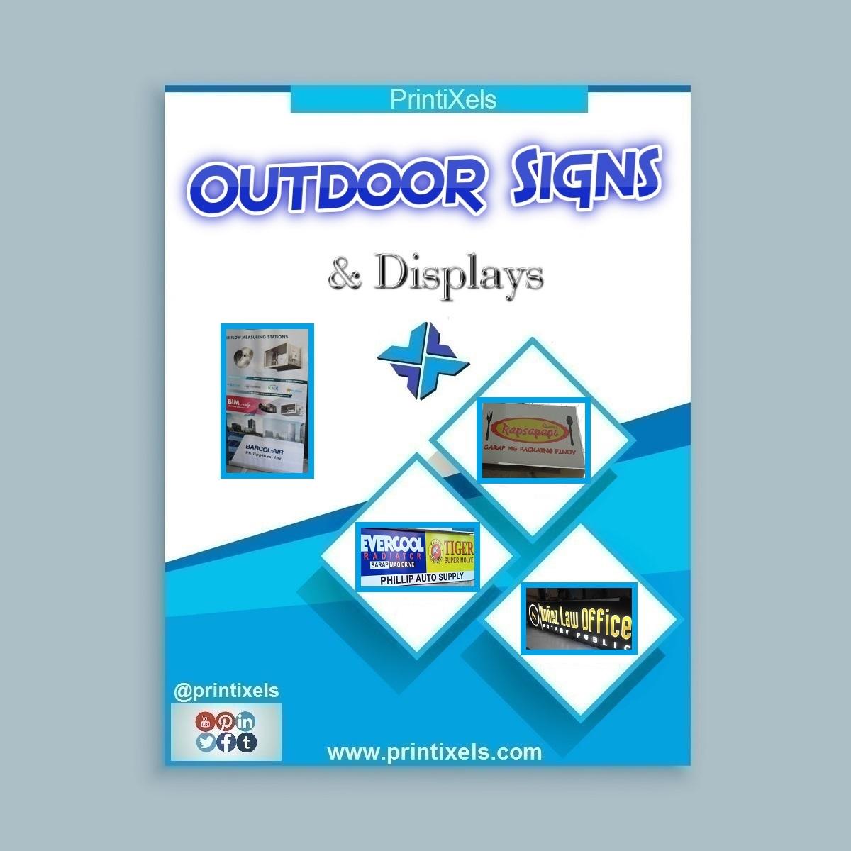 Custom Outdoor Signs & Displays