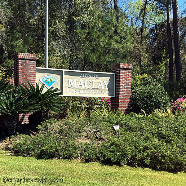 Entrance to Alfred B. Maclay Gardens State Park