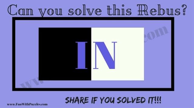 Rebus English phrase Puzzle