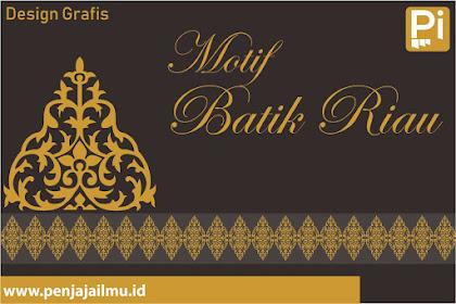 Vector Motif Batik Riau