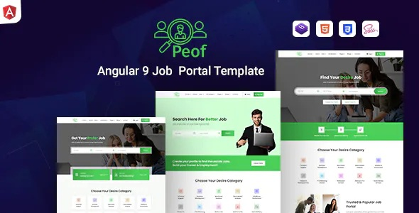 Download Angular Job Portal Template