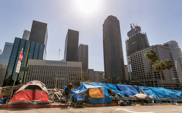 L.A.'s homelessness surged 75% in six years. Here's why the crisis has been decades in the making