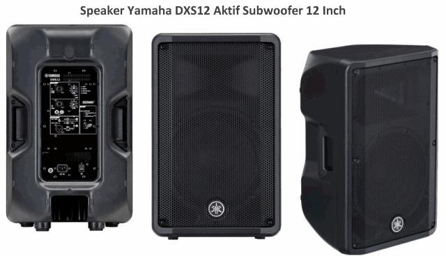 Harga Speaker Yamaha DBR12 Spesifikasi