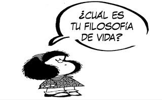 Mafalda y su filosofía de vida